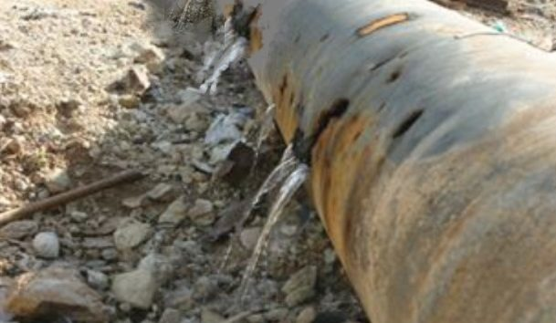 Leaking pipeline as a metaphor for corporate waste - contact TripleWin Advisory