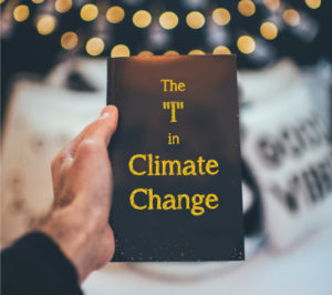 "Book Cover: ""The 'I' in Climate Change"" by Kate Gartner"